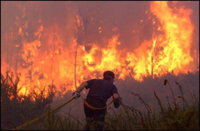Imagen de recurso de un incendio