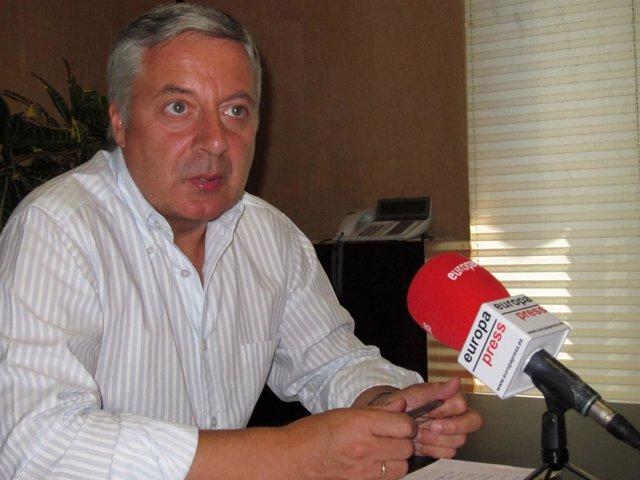José Blanco, Ministro De Fomento Y Portavoz Del Gobierno.