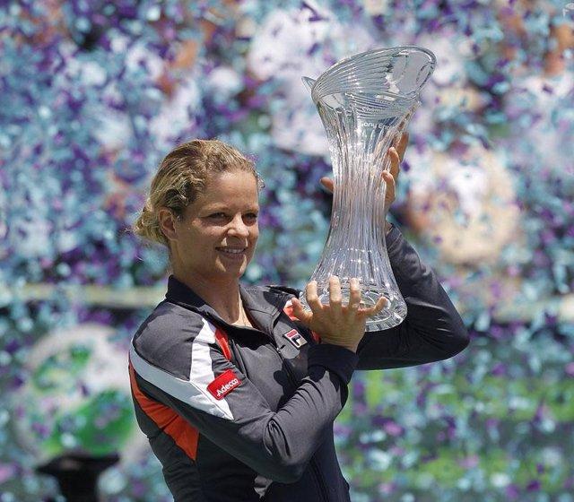 La tenista belga Kim Clijsters
