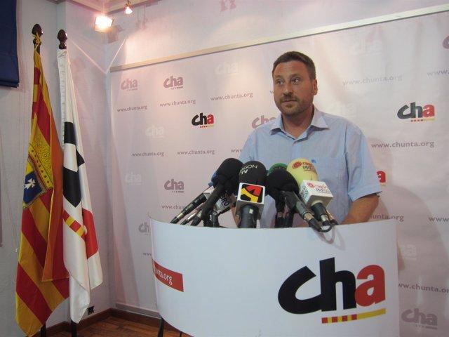 José Luis Soro, Diputado De Chunta Aragonesista En Las Cortes De Aragón