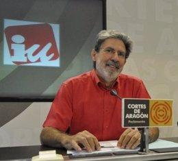 Adolfo Barrena, Coordinador General De IU-Aragón