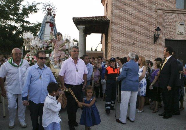 Procesión De Nuestra Señora De Butarque En Leganés