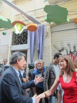 Artur Mas Visita Las Fiestas De Gràcia