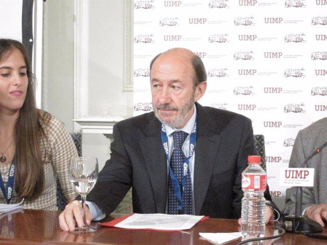 Alfredo Pérez Rubalcaba En La UIMP