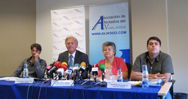 Víctimas Del Accidente De Spanair Y Decano Del Copac