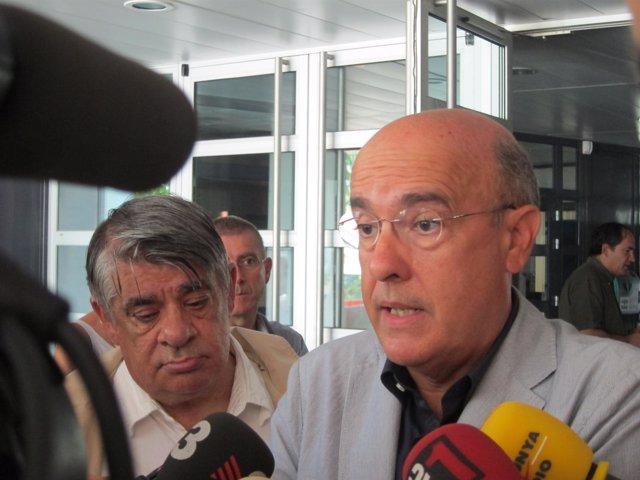 El Conseller De Salud, Boi Ruiz, En Prada De Conflent