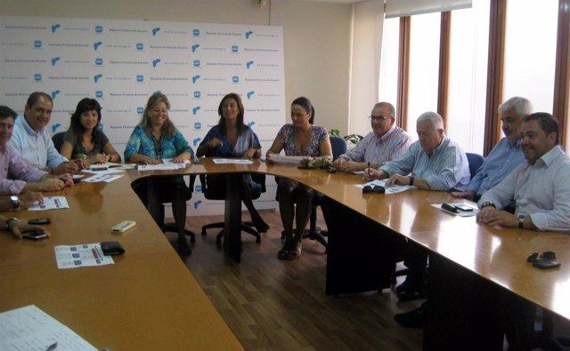 Comité De Campaña Del PP En Alicante