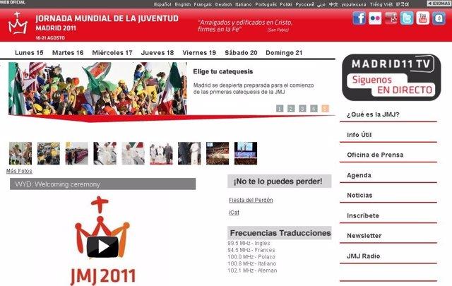 Página Web Oficial Dejmj