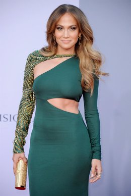 Jennifer Lopez Posando En Una Alfombra Roja