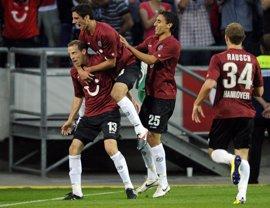 Fútbol/Europa League.- Crónica del Hannover 96-Sevilla, 2-1