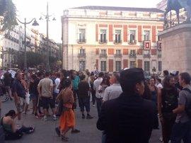 JMJ.- Los 'indignados' convocan una nueva concentración y manifestación mañana entre Sol y Atocha