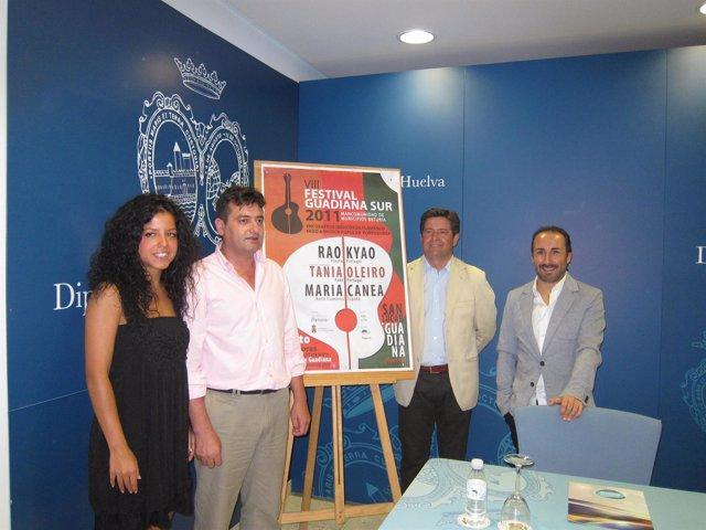 Presentación Del VIII Festival Guadiana Sur En Huelva