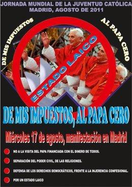 Cartel De La Marcha 'Antipapa'
