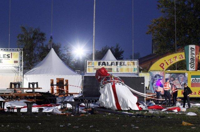 Ascienden A Cinco Los Muertos En Un Festival De Música En Bélgica