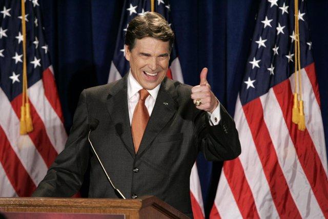 El Gobernador De Texas, Rick Perry