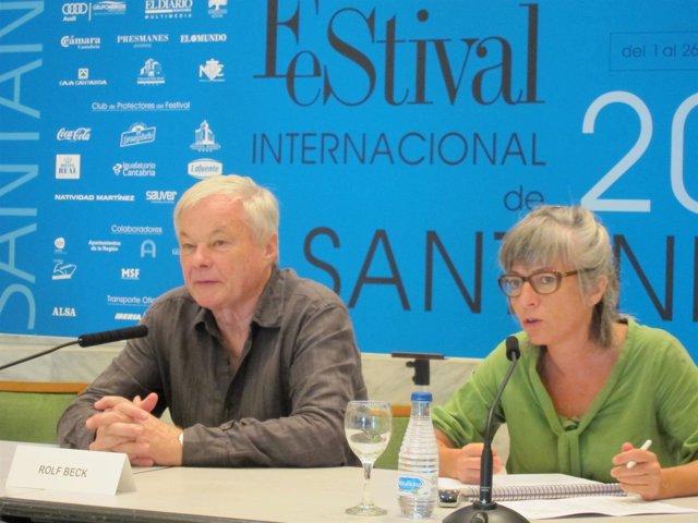 Rolf Beck En La Rueda De Prensa