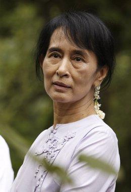 La Líder Opositora Birmana, Aung San Suu Kyi