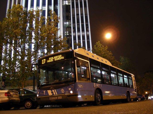 Autobús Nocturno O 'Búho' De Madrid