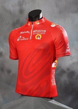 Maillot Rojo De La Vuelta 2011