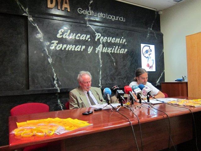 Jose Antonio Usparitza Presenta La Campaña De Las Pulseras De La DYA