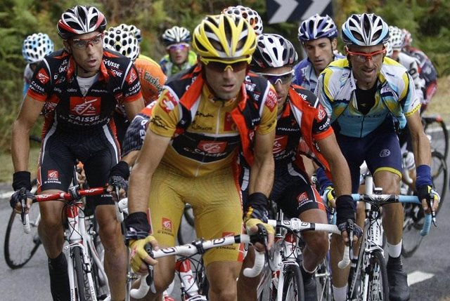 Valverde en la vuelta ciclista a España 2009