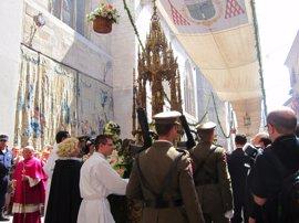 La custodia de Arfe, joya de la catedral toledana, participa este sábado en la adoración eucarística