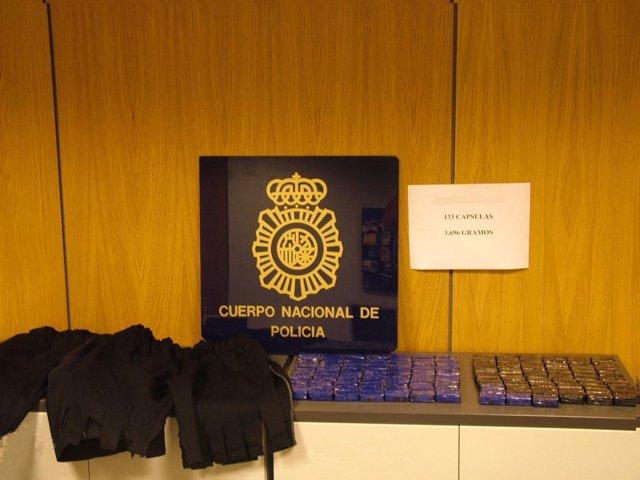 Droga Incautada En El Aeropuerto Del Prat