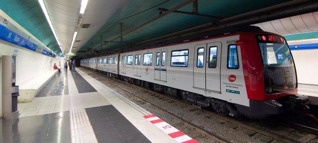 Convoy del metro Línea 5