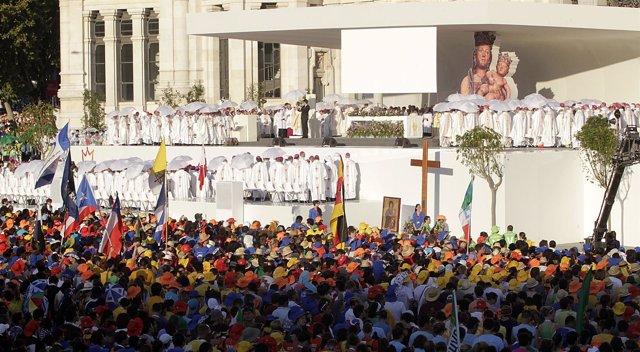 Misa Inaugural De La XXVI Jornada Mundial De La Juventud (JMJ)