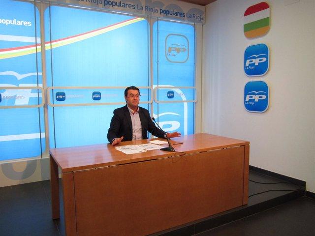 Javier Merino, Portavoz Del PP En El Ayuntamiento De Logroño