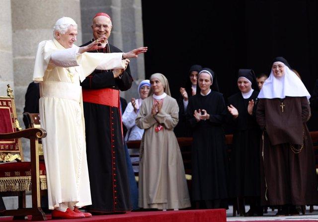 El Papa En El Encuentro Con Religiosas En El Escorial