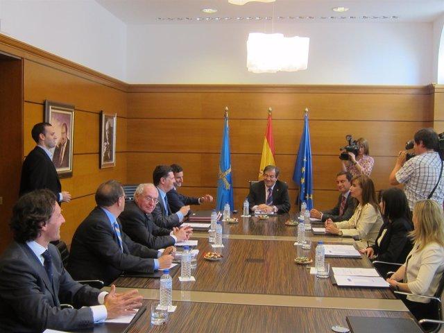 Consejo De Gobierno Presidido Por Cascos.