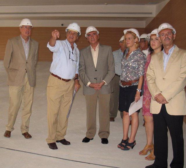 El Consejero De Turismo Visita Las Obras De Ampliación Del Andalucía Lab