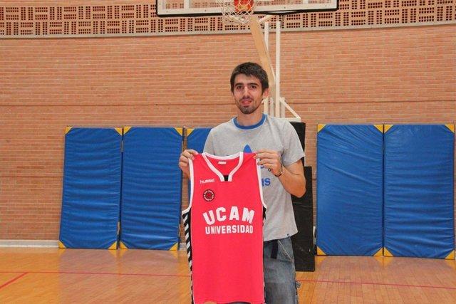 Josep Franch, Presenteado Con El UCAM Murcia