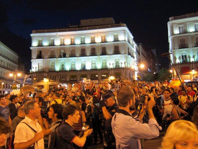 Manifestación Laica Contra La JMJ