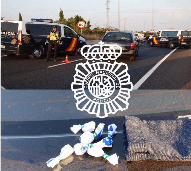 Droga Intervenida A Los Detenidos En Los Alrededores Del Rototom