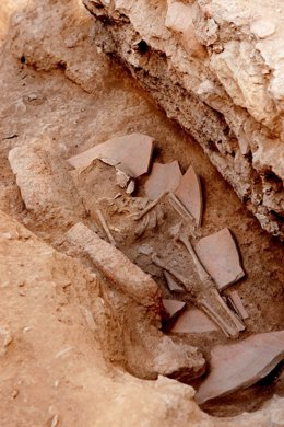 Enterramiento Villa Romana En Albir