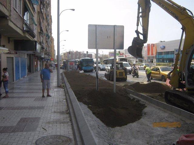 Obras Del Metro En La Zona De Juan XXIII