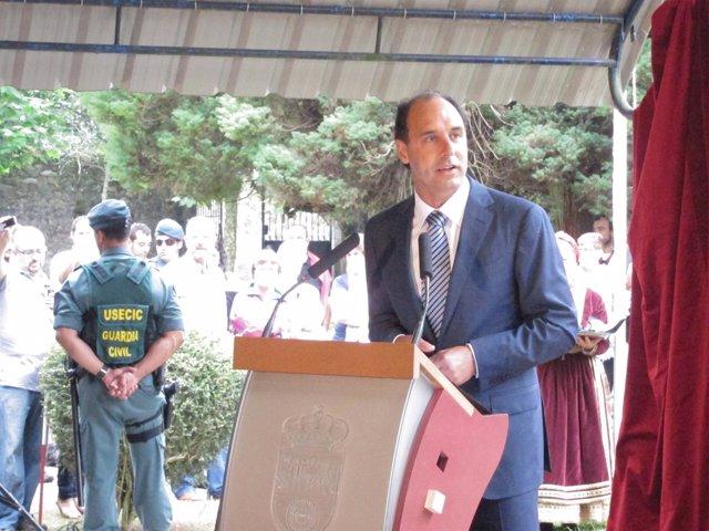 Ignacio Diego En El Día De Cantabria