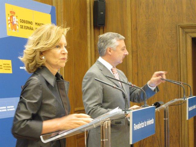 Elena Salgado Y José Blanco