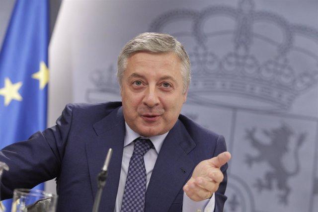 José Blanco En La Moncloa
