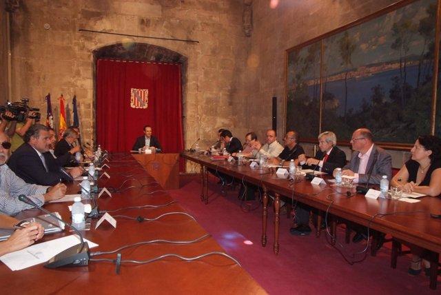 José Ramón Bauzá Se Reúne Con Los Sectores Económicos Y Sociales