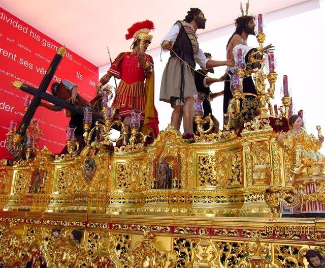Paso Jesus Despojado De Sus Vestiduras De Granada Via Crucis JMJ
