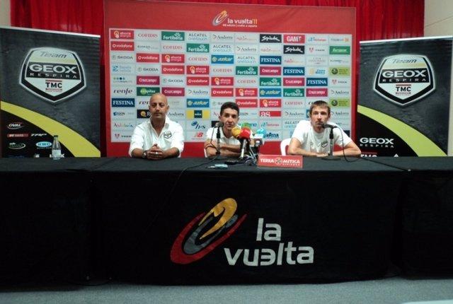 Sastre Y Menchov Antes De La Vuelta