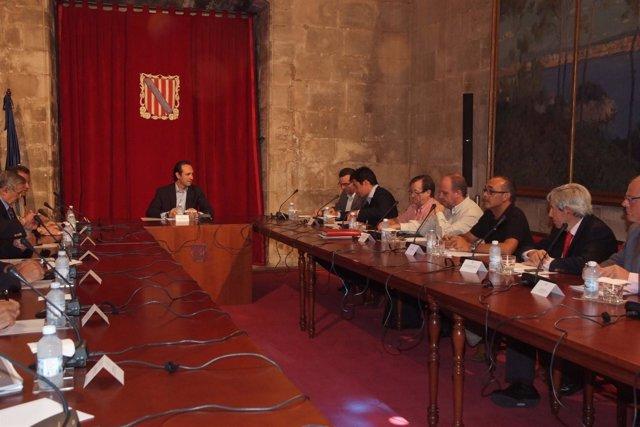 José Ramón Bauzá Se Reúne Con Sectores Económicos Y Sociales