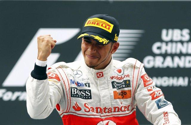 Lewis Hamilton (Mclaren) Vence En China