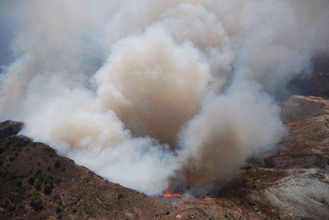 Imagen Del Incendio En Cartagena
