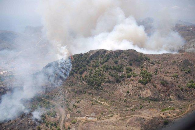 Incendio En Cartagena
