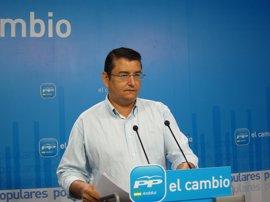 """Sanz (PP-A) aboga por suprimir mancomunidades antes que diputaciones y rechaza el """"modelo intervencionista"""" de la Junta"""