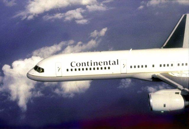 aeronave de continental airlines